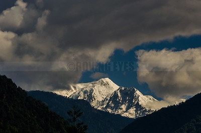 A2:Majestic Mt.Kabru(south) as seen from Yuksom in West Sikkim
