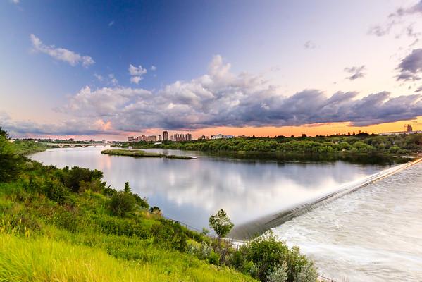 South Saskatchewan River, Saskatoon