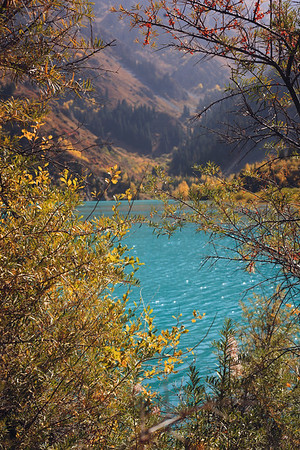 Lake Issyk (Есік көлі). Almaty, 2017.