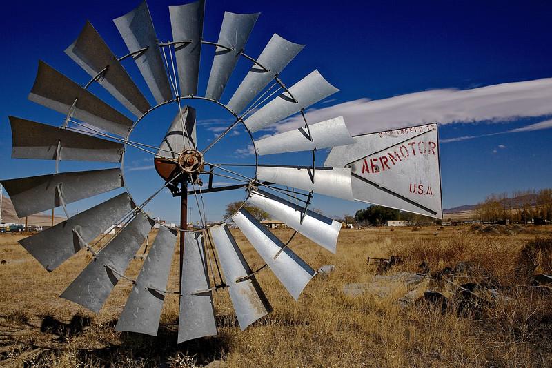 Windmill #2. Nevada