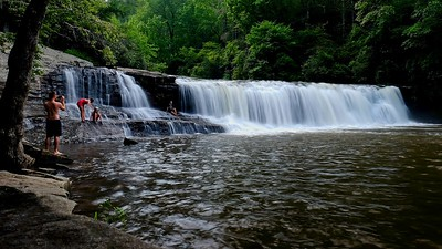Hooker Falls at DuPont State Recreation area