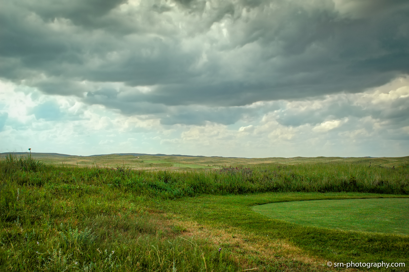 Stormy Day at Sand Hills GC