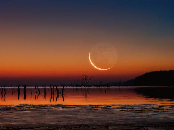 December Moonrise