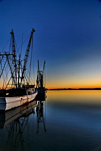 Shrimp Boat, Folly Beach, SC