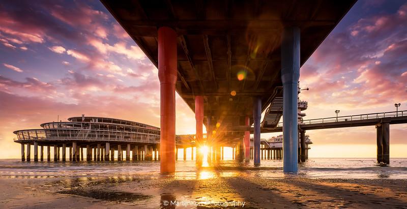 Sunset at Scheveningen