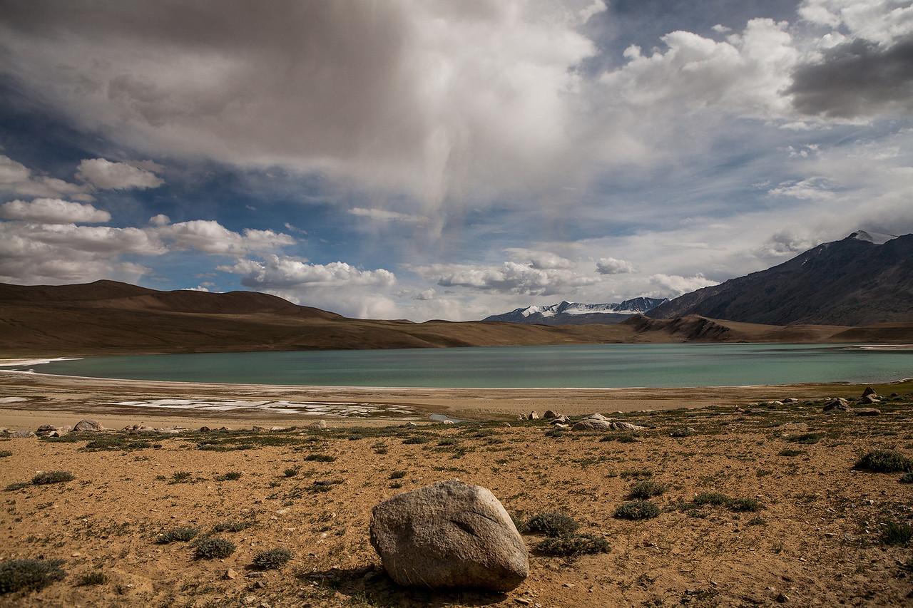 Tso Kyogar en route Tso Moriri, Ladakh, India
