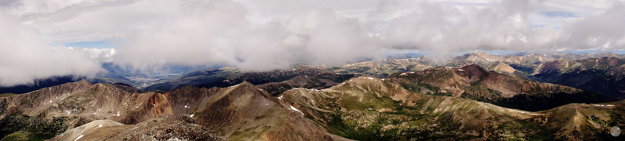 Grays Peak Panorama