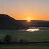 Silbury Winter Sun