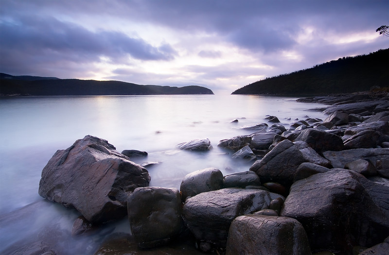 Fortesque Bay, Sunrise