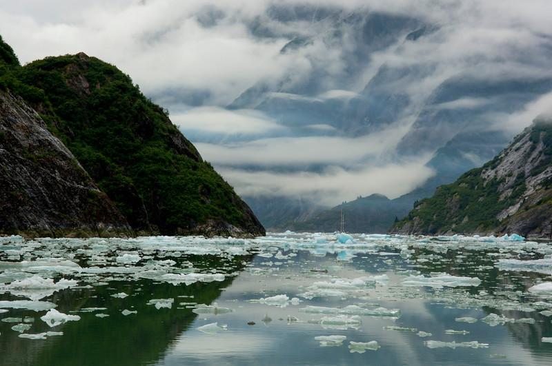 Fjord in Alaska