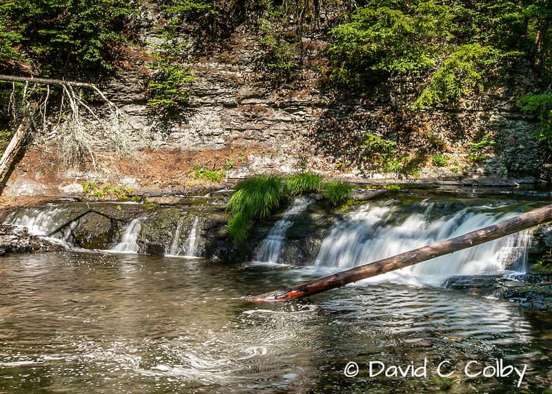 Upper part of Raymondskill Falls