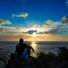 Sunset Scotts Head, Dominica