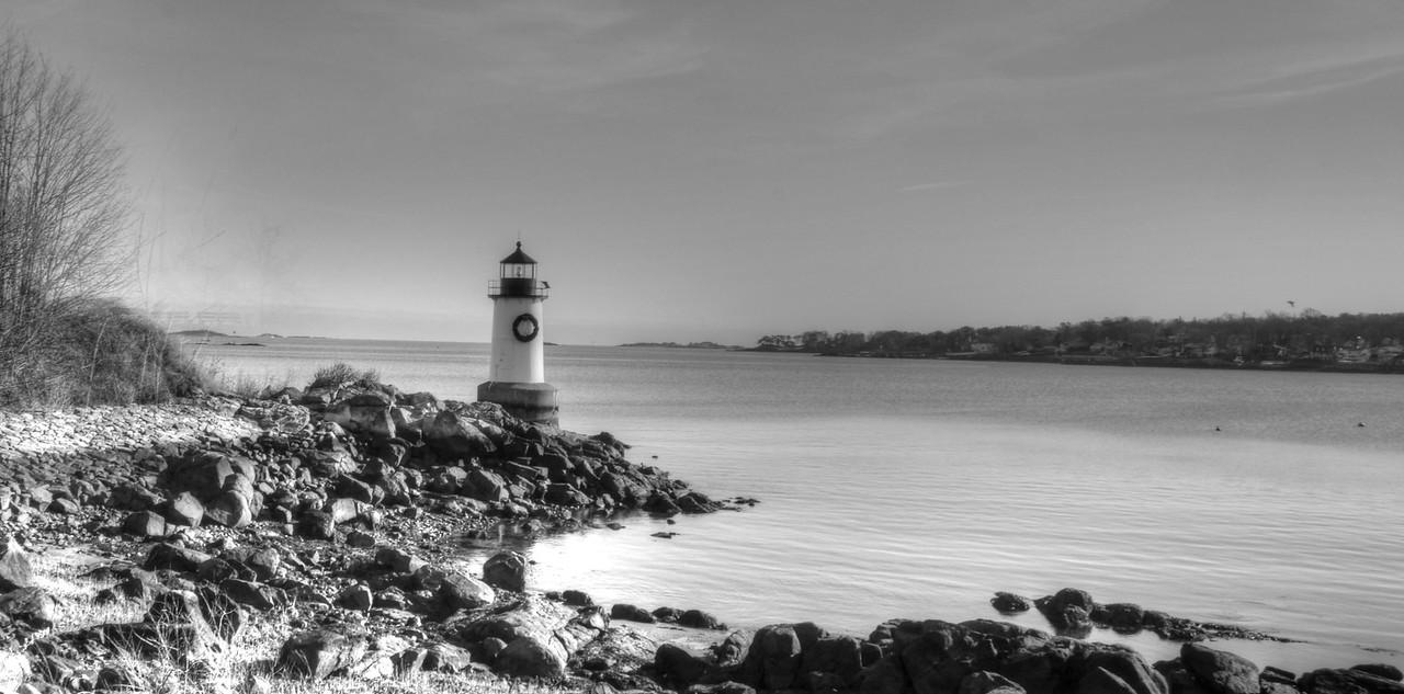 Ft. Pickering Lighthouse at Winter Island Marina, Salem Ma.
