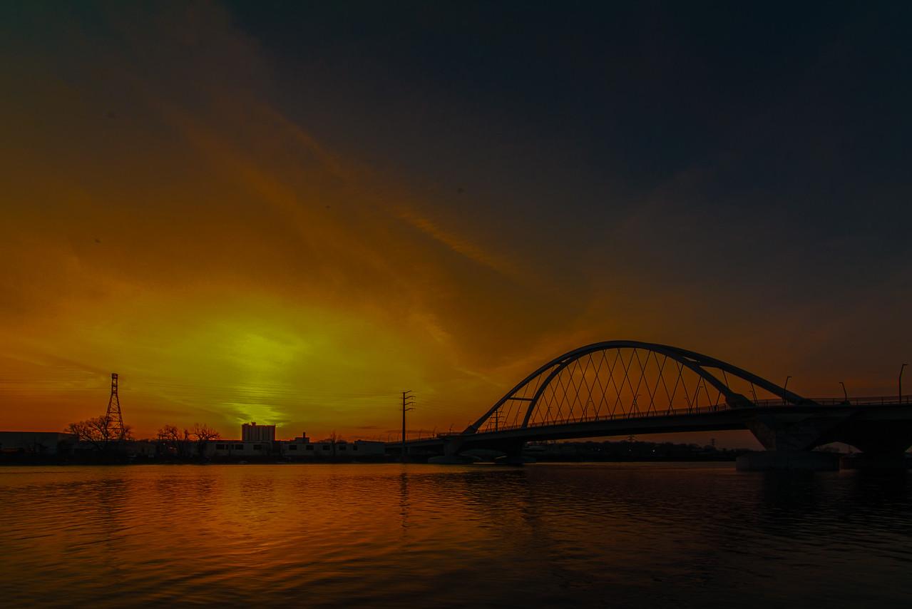 Sunset @ Lowry Avenue Bridge