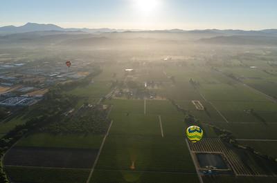 Soaring over Santa Rosa