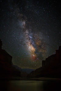 Milky Way, Grand Canyon NP