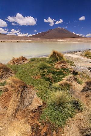 Borax Lake Bolivian Altiplano