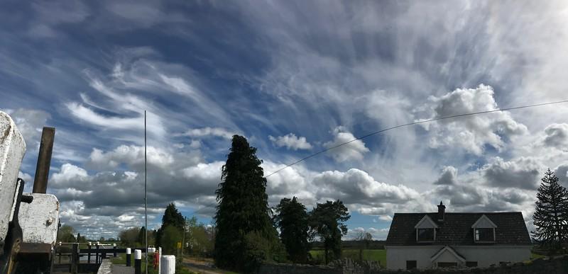 Sky over Ballycowan, Tullamore