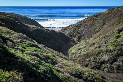 Pacific Ocean Coastline