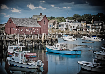 Rockport Harbor - Motif #1