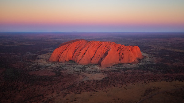Uluru / Ayers Rock from Heli