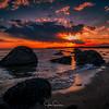 Hammonasset Beach Winter Sunset
