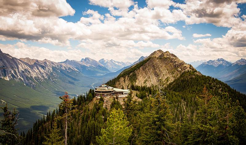 Banff Gondola Upper Terminal