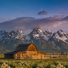 June 22 - Moulton  Barn , Teton Range in Jackson Hole, Wyoming