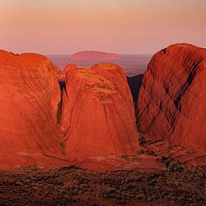 Uluru and Kata Tjuta (aka Ayers Rock and the Olgas)