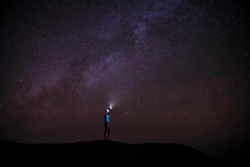 Finding the way to the Milky Way