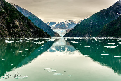 South Sawyer Glacier in Tracy Arm