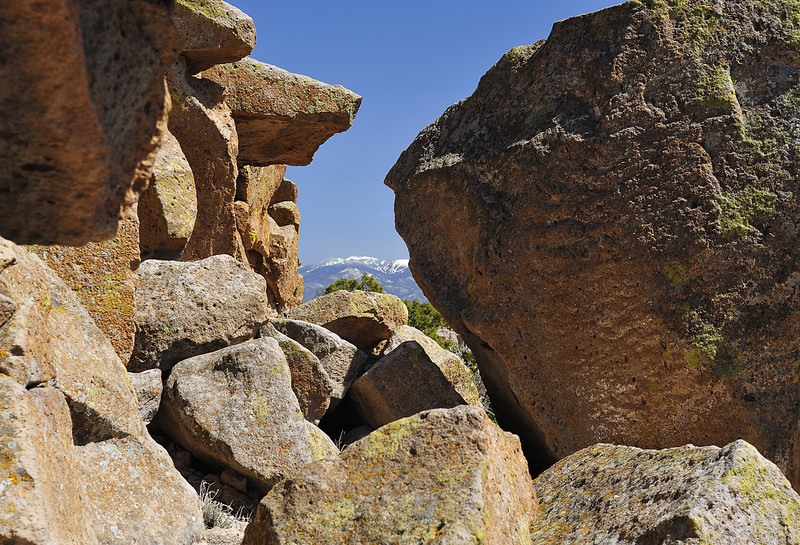 Tsankawi Ruin, New Mexico