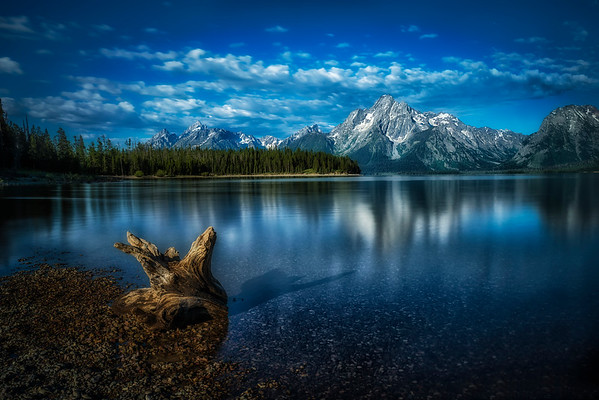A New Day at the Grand Tetons