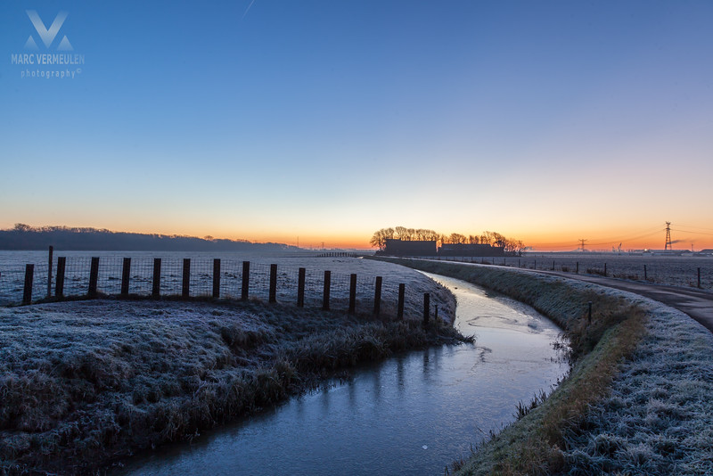 Winter in the Bonnenpolder