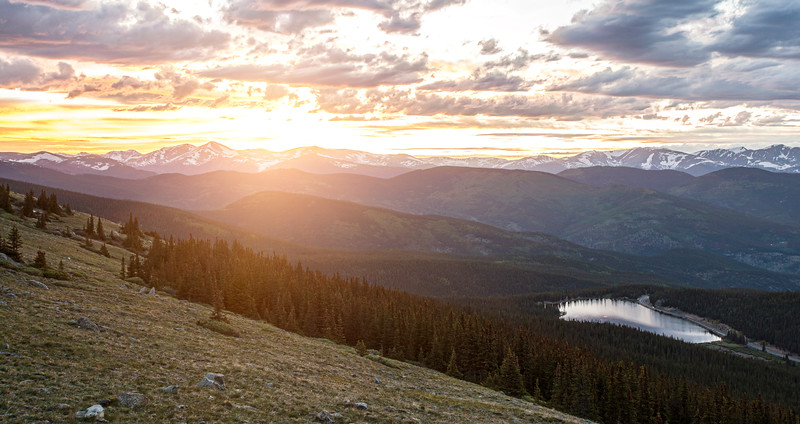 Mt. Evans Sunset