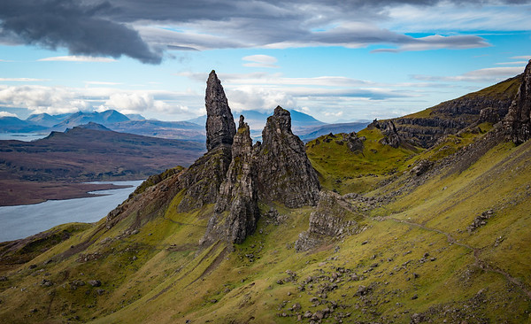Old Man of Storr in the Morning - Isle of Skye, Scotland
