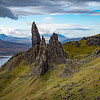 Old Man of Storr in the Morning, Isle of Skye, Scotland