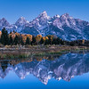Teton Blue Hour Panorama
