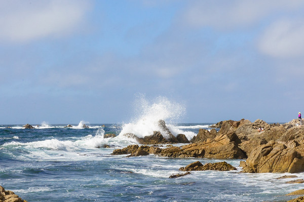 China Rock at Monterey Bay