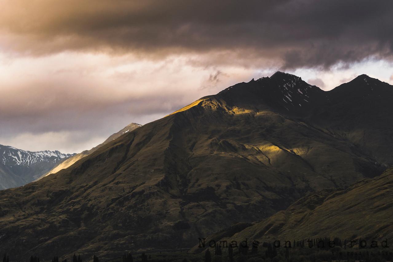 Light on the peak
