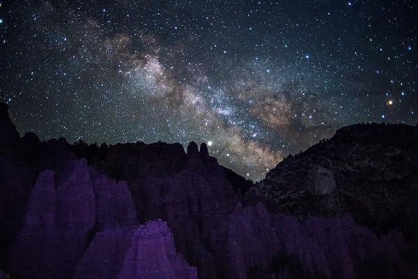 Milky Way at Castle Rock