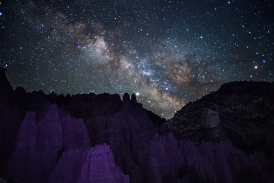 Milky Way at Castle Rock