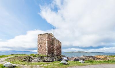 Portencross castle Seamill North Ayrshire