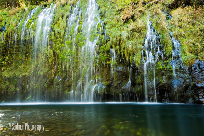 Mossbrae Falls CA