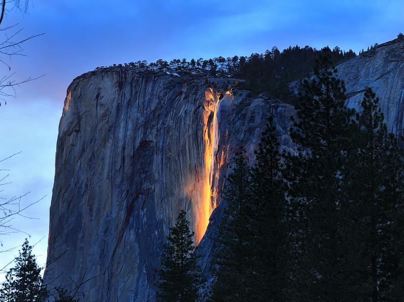 Horsetail Falls, Yosemite National Park, CA
