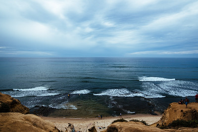 the ocean can calm itself