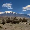 Muslim tombs at Mt. Kongur, Xinjiang, China