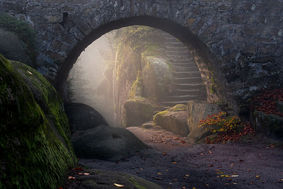 Mysterious bridge