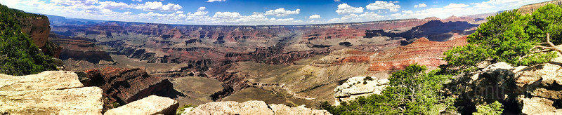 South Rim Panorama, Grand Canyon National Park