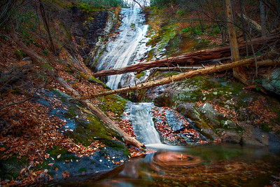 Autumn at Crabtree Falls